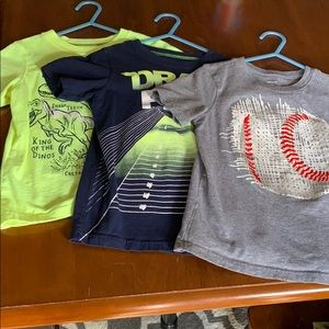Set of 3 Carter's shirts